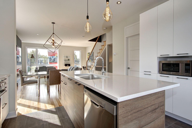 Projet immobilier - Maisons de ville neuves