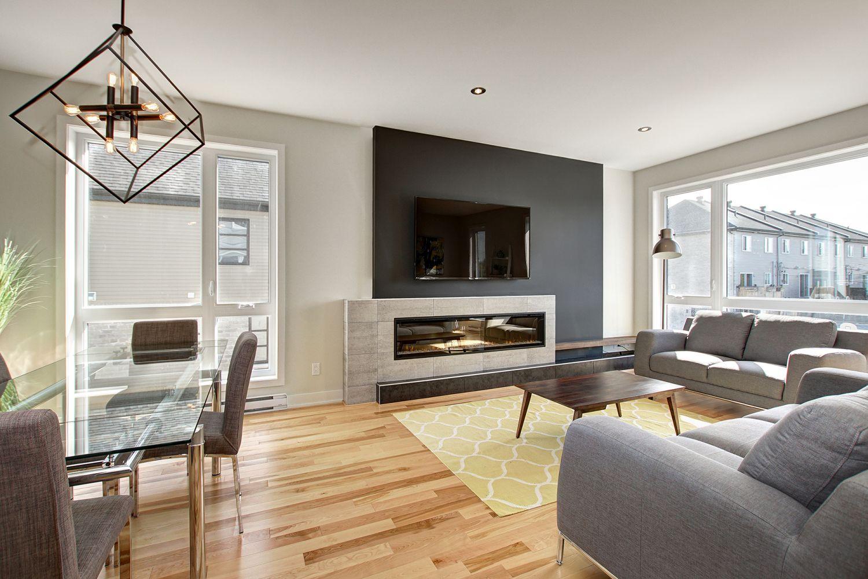 Maisons de ville neuves près de Montréal